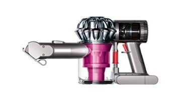 Dyson V6 Trigger + beutel- & kabelloser Staubsauger inkl. motorisierter Mini-Elektrobürste, Kombi- & Fugendüse / Beutelloser Handstaubsauger mit Nickel-Mangan-Cobalt Akku -