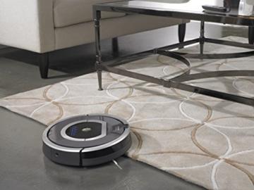 iRobot Roomba 782 Staubsaug-Roboter (Raum-zu-Raum Funktion, Füllstandanzeige) grau -